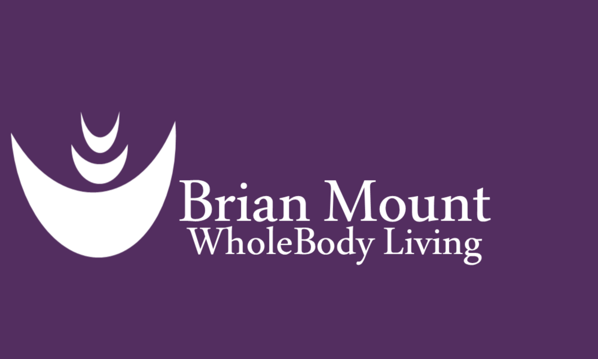 Brian Mount WholeBody Living